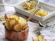 Khoai lang chip - món ăn vặt ngon mà tốt cho sức khỏe