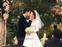 Toàn cảnh siêu đám cưới Song Joong Ki - Song Hye Kyo: Chú rể xúc động đến rơi lệ vì cô dâu