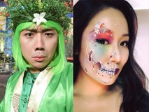 Sao Việt 'biến hóa khôn lường' trong dịp lễ hội Halloween 2017