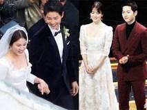 Hóa ra váy cưới của Song Hye Kyo đã được tiết lộ từ trước mà chúng ta chẳng hề hay biết