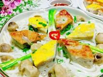 Bánh canh chả cá đậm đà, hấp dẫn cả nhà bởi vị thơm ngon