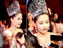 Tân hoa hậu Đại dương nói về nghi án mua giải