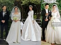 Cùng với Song Hye Kyo, nhiều người đẹp cũng diện thiết kế váy cưới của Dior trong ngày trọng đại