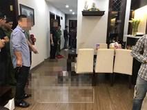 Hiện trường vụ án mạng sát hại người phụ nữ ở khu đô thị bậc nhất Hà Nội