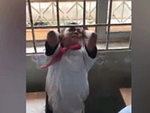 Cậu bé nghịch dại bị kẹp đầu vào chấn song cửa sổ lớp học và nỗ lực giải cứu của thầy giáo