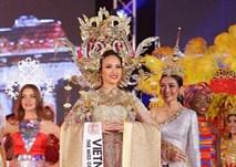 Đi thi trong âm thầm, Khánh Ngân xuất sắc đăng quang Hoa hậu Sắc đẹp Hoàn cầu 2017