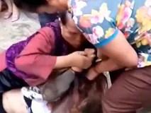 Clip: Mẹ chồng 70 tuổi đi đánh ghen cùng con dâu gây xôn xao