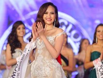 Thời khắc Khánh Ngân được xướng tên ngôi vị cao nhất Miss Globe 2017
