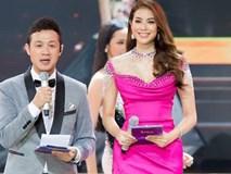 Clip: MC Anh Tuấn đại diện BTC Hoa hậu Hoàn vũ Việt Nam gửi lời chia sẻ tới người dân chịu thiệt hại do bão trong đêm Bán kết