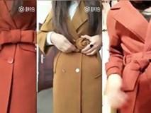 Clip: Mẹo thắt nơ áo dạ đẹp mà cực dễ làm cho quý cô sành điệu