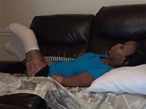 Xót xa bà mẹ vừa mất con vừa mất tay chân vì một biến chứng thai kỳ