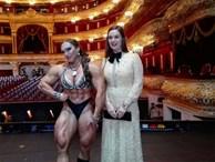 Cơ bắp cuồn cuộn của nữ VĐV thể hình vô địch châu Âu