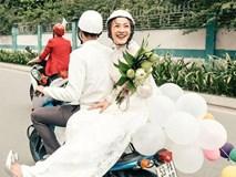 """Đám cưới sau 9 năm yêu với màn rước dâu """"tăng động"""" cực chất của cặp đôi Sài Gòn"""