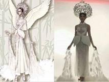 Trang phục dân tộc dự thi Hoa hậu Quốc Tế của Thùy Dung bị chê quê mùa và thiếu tinh tế