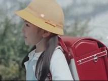 Clip đầy xúc động ghi lại ngày đầu tiên tự đi bộ tới trường của trẻ em Nhật