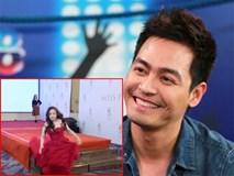 Phan Anh không nhịn được cười vì thí sinh Hoa hậu liên tục 'vồ ếch' khi catwalk