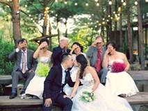 """Cả Hà Nội mới có một gia đình """"yêu tận tim"""": Ông bà, thông gia """"cưới"""" cùng cô dâu, chú rể vui như thế này!"""