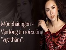 """Á hậu Hoàng My: Một phát ngôn - vạn lòng tin rơi xuống """"vực thẳm"""""""