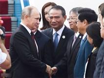 Chuyên cơ chở Tổng thống Putin đến Đà Nẵng dự APEC