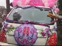 Màn rước dâu bằng xe tải khiến dân tình tròn mắt chiêm ngưỡng