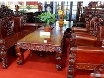 Ngắm bộ bàn ghế 'vua gỗ' giá gần 2,5 tỷ đồng, đại gia hỏi mua không được