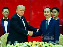 Trực tiếp: Tổng thống Donald Trump dự tiệc chiêu đãi Nhà nước