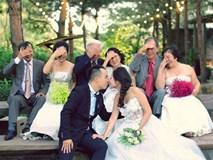 Cặp đôi cô dâu chú rể khiến cả mạng xã hội ghen tỵ vì bộ ảnh cưới độc và ý nghĩa
