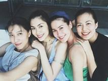 Hội bạn thân Hà Tăng: 10 năm từ các cô gái đôi mươi đến những người mẹ bỉm sữa vẫn bên nhau như tri kỉ!