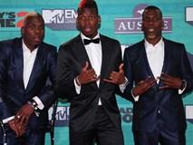 Ba anh em Pogba quậy tưng bừng tại lễ trao giải âm nhạc