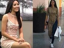 Đặt chân sang Mỹ tham dự Miss Universe 2017, Nguyễn Thị Loan đã mắc lỗi trang phục ngay ngày đầu tiên