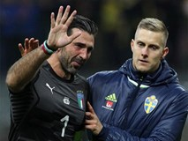 Buffon khóc nức nở, thông báo chia tay đội tuyển Italia