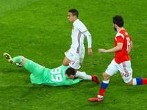 Thủ môn Nga đối mặt tử thần ở trận hòa Tây Ban Nha