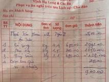 Quảng Ninh: Thực hư bữa ăn 9 triệu đồng nghi bị