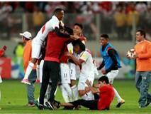 Peru giành vé cuối cùng đến World Cup 2018