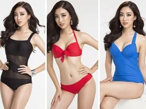 Đỗ Mỹ Linh diện bikini khoe đường cong nóng bỏng trước chung kết Miss World 2017