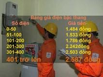 Khung giá điện mới: Dùng trên 400 số điện, giá đất gấp đôi