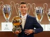 Ronaldo muốn giành 7 Quả bóng vàng và có 7... đứa con