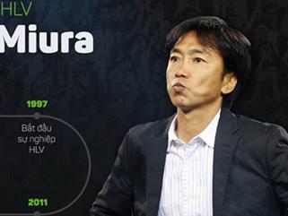 HLV Miura về dẫn dắt đội bóng của Chủ tịch Công Vinh