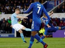 Thắng nhẹ Leicester, Man City làm nản lòng nhóm bám đuổi
