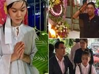 Sao Việt nghẹn ngào đến viếng diễn viên Nguyễn Hoàng