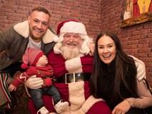 McGregor vui vẻ bên gia đình trước tin đồn nghỉ thi đấu 6 tháng