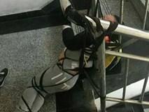Mẹ cột con 3 tuổi vào cầu thang vì chồng không gửi tiền khiến dân mạng phẫn nộ