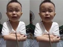 """Chết cười với lý luận đáng yêu của cậu bé bị cha """"dọa đánh"""""""