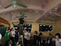 Cả lớp bí mật tổ chức tiệc chúc mừng sinh nhật cho cô giáo chủ nhiệm