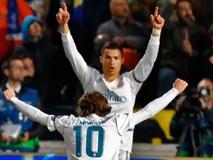 C.Ronaldo lập cú đúp, Real Madrid giành vé đi tiếp ở Champions League