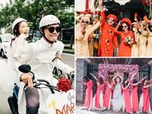 """Lễ đính hôn phá cách của các cặp đôi """"thánh lầy"""" khuấy đảo mùa cưới 2017"""
