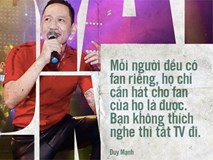 """Không chỉ bênh vực Chi Pu giữa """"tâm bão"""", Duy Mạnh còn bỏ túi hàng loạt phát ngôn """"không thể thẳng hơn"""" về nghề ca sĩ!"""