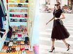 Vừa tuyên bố bỏ Facebook, Phạm Hương đã khiến cộng đồng Instagram nghẹt thở với tủ giày trăm đôi-10