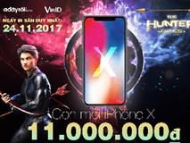 Săn iPhoneX giá 11 triệu cùng ngàn ưu đãi 50% trên Adayroi.com