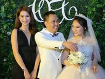 Ngọc Trinh đến dự đám cưới Nhật Thủy kết hôn với chồng hơn 14 tuổi